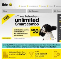fido.ca screenshot