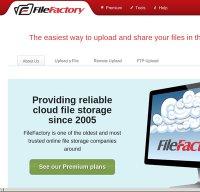 filefactory.com screenshot