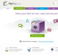 filepost.com screenshot