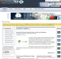 filesharingtalk.com screenshot