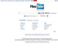 filestube.com screenshot