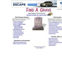 findagrave.com screenshot