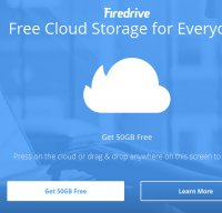 firedrive.com screenshot