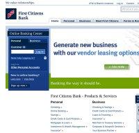 firstcitizens.com screenshot
