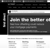 firstdirect.com screenshot