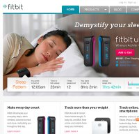 fitbit.com screenshot