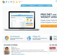 fitday.com screenshot