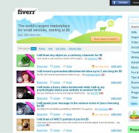 fiverr.com screenshot