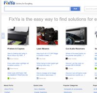 fixya.com screenshot