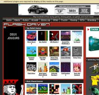 flashdriven.com screenshot