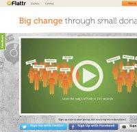 flattr.com screenshot