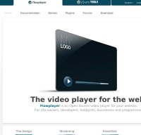 flowplayer.org screenshot
