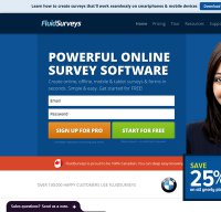 fluidsurveys.com screenshot