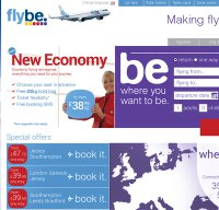 flybe.com screenshot