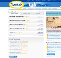 flyertalk.com screenshot