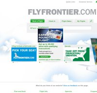 flyfrontier.com screenshot
