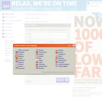 flysas.com screenshot