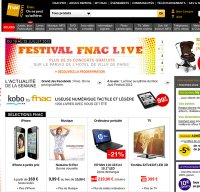 fnac.com screenshot
