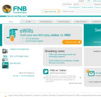fnb.co.za screenshot