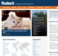 fodors.com screenshot