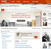 fold3.com screenshot