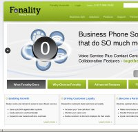 fonality.com screenshot