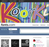 fonts.com screenshot