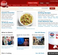 foodnetwork.com screenshot
