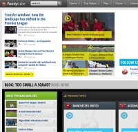 footytube.com screenshot
