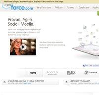 force.com screenshot