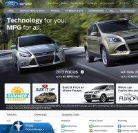 ford.com screenshot