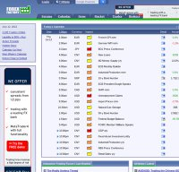 forexfactory.com screenshot