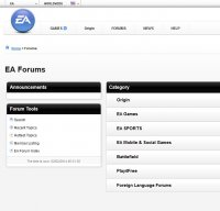 forum.ea.com screenshot