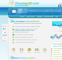 forumactif.com screenshot