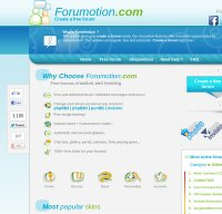 forumotion.com screenshot