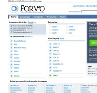 forvo.com screenshot
