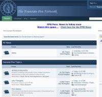 fountainpennetwork.com screenshot