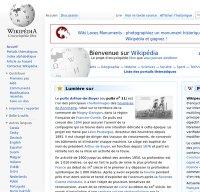 fr.wikipedia.org screenshot