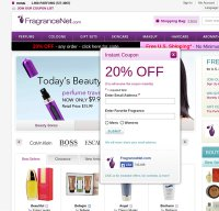 fragrancenet.com screenshot
