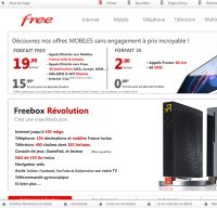 free.fr screenshot