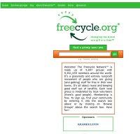 freecycle.org screenshot