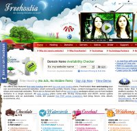 freehostia.com screenshot