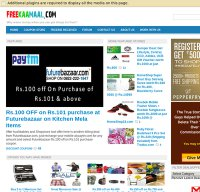freekaamaal.com screenshot