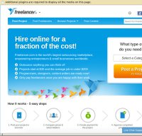 freelancer.com screenshot