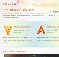 freemake.com screenshot