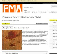 freemusicarchive.org screenshot