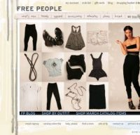 freepeople.com screenshot