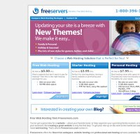 freeservers.com screenshot