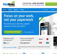 freshbooks.com screenshot