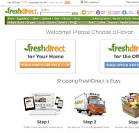 freshdirect.com screenshot